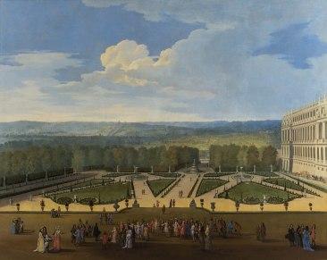 1508px-Promenade_de_Louis_XIV_en_vue_du_Parterre_du_Nord_vers_1688